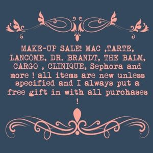 Make up  sale goes until i sell current inventory